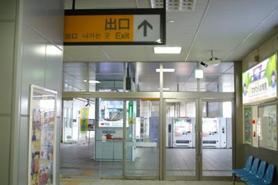 JR長町駅の改札を出たところ