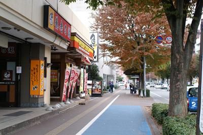 長町駅前の養老乃瀧さんとミスタードーナツさんと魚民さん